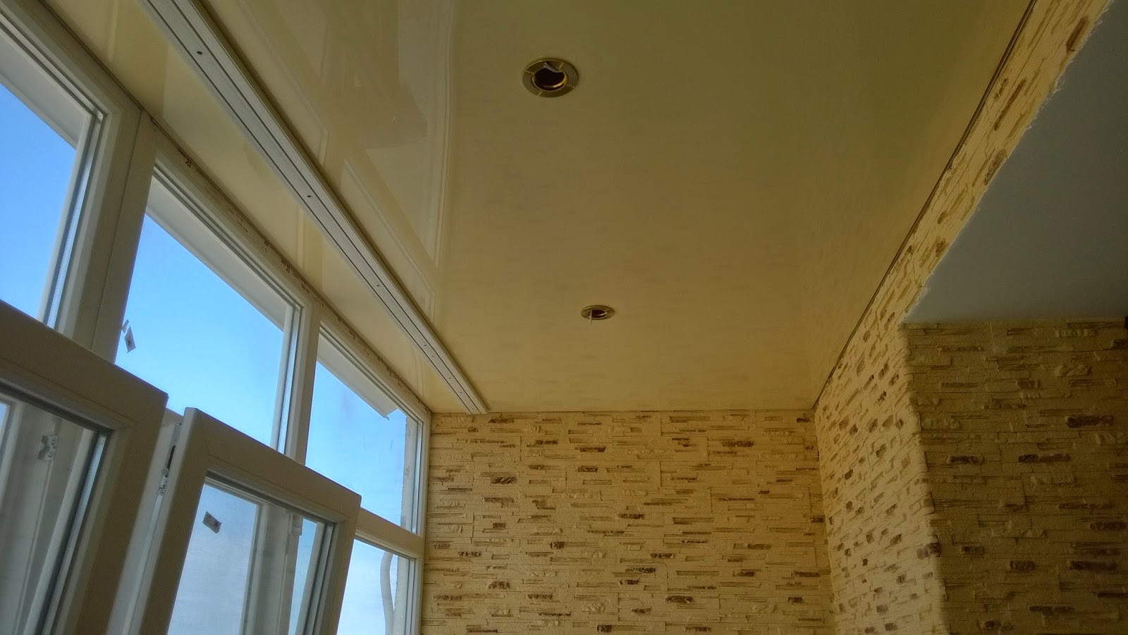 Как на лоджии сделать потолок 620