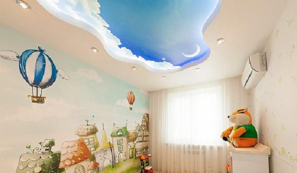 Облака в детской